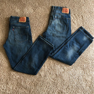 EUC 2 pairs Men's 541 Levi's jeans
